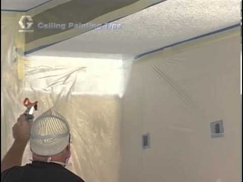 paint sprayer how to - This informative video shows how to paint a ceiling with a Graco Magnum Paint Sprayer. What kind of paint should you use? Need some helpful tips and tricks t...