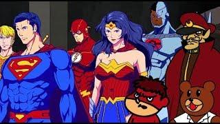 DCヒーローと鷹の爪が驚愕のコラボ/映画『DCスーパーヒーローズ vs 鷹の爪団』予告編