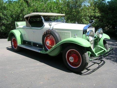 1929 Cadillac Roadster – Buffalo Wire Wheel Color Change TEST ALSO 1925 Cadillac Formal Sedan
