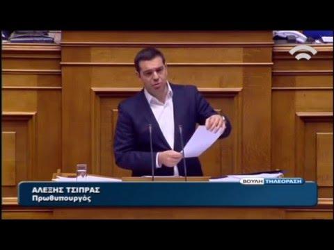 Δευτερολογία Πρωθυπουργού στη συζήτηση Ολομέλ. Βουλής για τη Δικαιοσύνη, τη Διαφθορά&τη Διαπλοκή