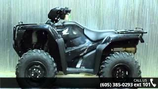 8. 2015 Honda FourTrax Foreman 4x4 ES Power Steering  - Vern...