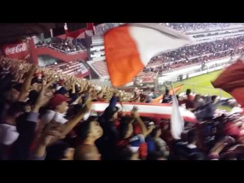 """LA BANDA YA SE DESCONTROLO..."" + Golazo de benitez - La Barra del Rojo - Independiente"