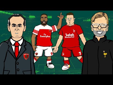 Arsenal 1-1 Liverpool REACTION: Lacazette Goal Denies Klopp 📺 GOGGLE IN THE BOX With 442oons 📺
