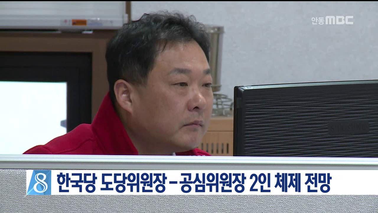 한국당 도당-공천위원장 2인 체제 전망