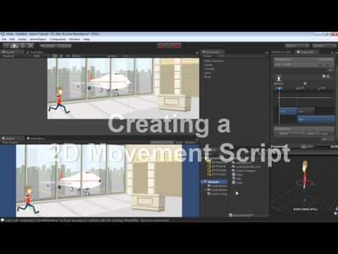 Setting Up a Scene and Character Animation in Unity