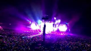 Up & Up - Coldplay live in Bangkok (7/04/17) Video