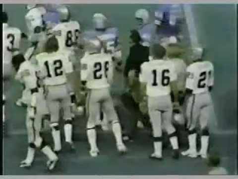 VIDEO:  Monday Night Football Raiders vs. Oilers 1971