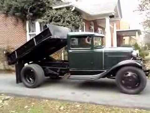 Грузовики 1931 Ford Model AA Dump Truck