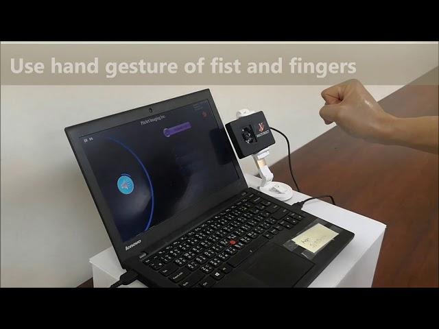 可應用於車用電子的多指手勢控制技術
