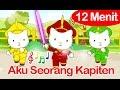 Aku Seorang Kapiten dan Lagu Lainnya (12 Menit) | Lagu Anak Indonesia