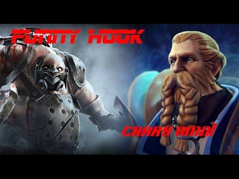 Carry(?) Omniknight killed PA, Bonus Funny Pudge hook