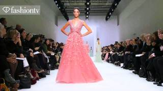 Elie Saab Spring 2012 Show At Paris Couture Fashion Week Ft Toni Garrn&Anja Rubik | FashionTV FTV