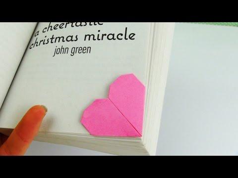 Lesezeichen DIY Herz Geschenk | Lesezeichen selber machen | schnell einfach | Tutorial |