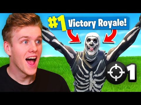 Reacting To My *FIRST* Victory Royale In Fortnite Battle Royale! (видео)