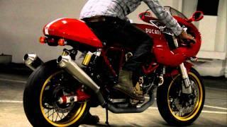 8. Ducati SportClassic Sport 1000s termignoni race exhaust take 1