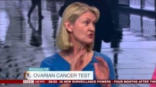 BBC Victoria Derbyshire Show   May 2015   CA125 testing
