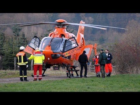 Waldarbeiter nach Unfall in Klinik geflogen