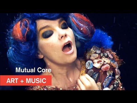 video art - Bjork's Mutual Core video has been nominated for The Webby Awards! Vote here: http://bit.ly/bjork-webby