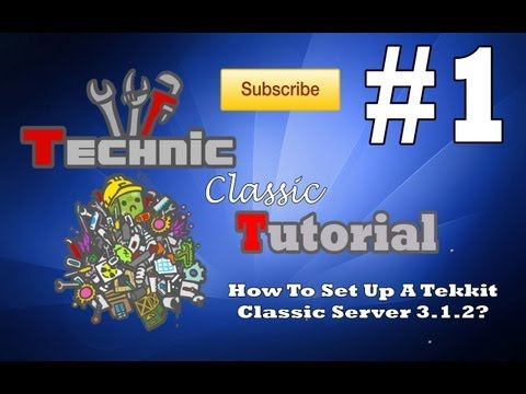 3.1.2 - Welcome to another tutorial by ProVidiaUK shows you how you can set up your own tekkit classic server to play with your friends. This tutorila show you how t...