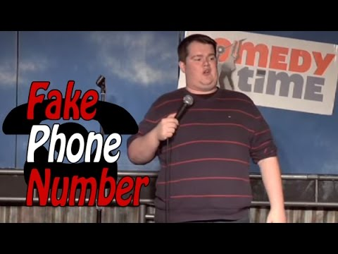 Comedy Time - Fake Phone Number (Stand Up Comedy)