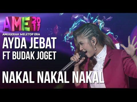 Video Anugerah MeleTOP ERA 2017: Ayda Jebat ft. Budak Joget - Nakal Nakal Nakal #AME2017 download in MP3, 3GP, MP4, WEBM, AVI, FLV January 2017