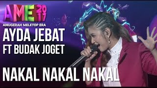 Video Anugerah MeleTOP ERA 2017: Ayda Jebat ft. Budak Joget - Nakal Nakal Nakal #AME2017 download in MP3, 3GP, MP4, WEBM, AVI, FLV January 2017