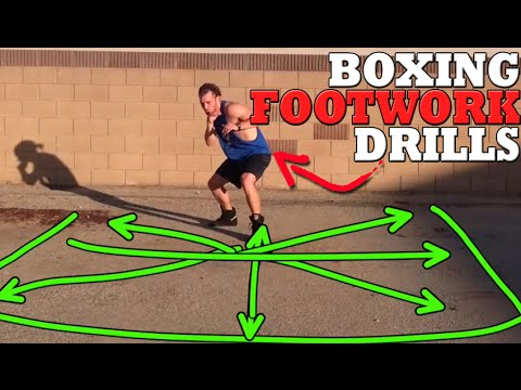 Boxing Footwork Drills: Improve Balance + Control Spatial Positioning