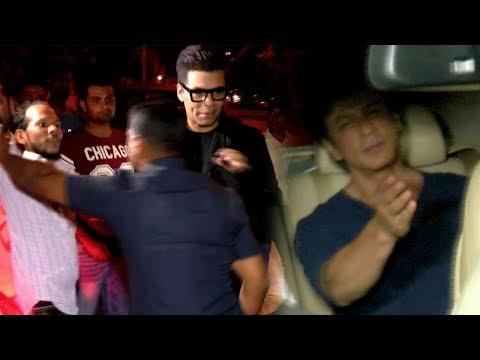 Shah Rukh Khan, Karan Johar Spotted At Zoya Akhtar