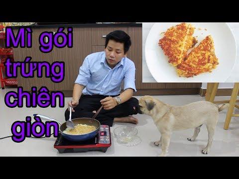 Cách làm MÌ GÓI TRỨNG CHIÊN - Nấu ăn cùng Chó Pug - Pugk vlog - Thời lượng: 17:04.