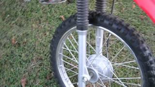 9. Honda CRF 100 2009