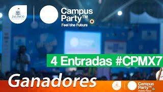 Muchas felicidades a los ganadores! Nos vemos en #CPMX7Redes Sociales: ◢ Twitter @UECenter: http://www.twitter.com/UECenter◢ Página de Facebook:http://www.facebook.com/UleadEstudioCenter◢ Página web: http://www.DAIZcorp.com___UECenter de DAIZcorp.