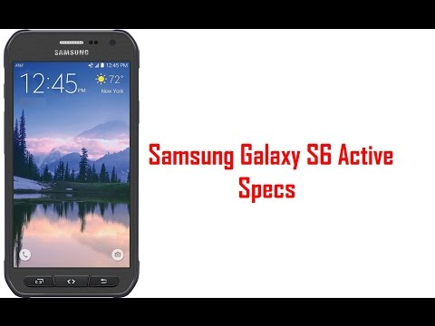 Samsung Galaxy S6 Active Specs & Features