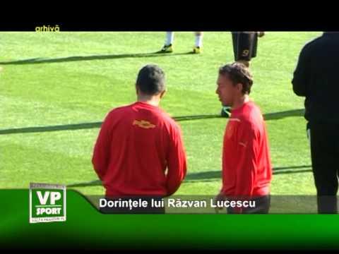 Dorințele lui Răzvan Lucescu