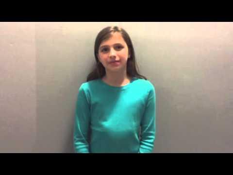 Lola Fox's audition (видео)