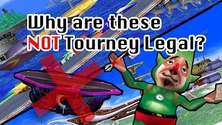 Why Melee only has 6 tourney legal stages