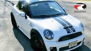 MINI Cooper Coupe JCW 2012 Test Drive&Car Review By RoadflyTV With Ross Rapoport