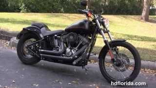 10. Used 2012 Harley Davidson Softail Blackline Motorcycles for sale