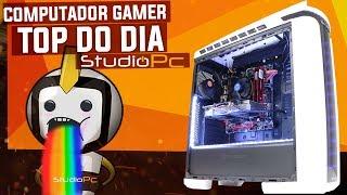 Monte também o seu PC GAMER : http://goo.gl/1k59DaCOMPRE O PC MAIS BARATO DA STUDIOPC : https://goo.gl/uSv29aConfiguração : I7 7700 + 16GB DDR4 + HD 1TB + SDD KINGSTON 240GB + GTX 1080 8GB + Fonte 600W SEMI MODULAR  + Placa Mãe B150M GAMING3 Gigabyte + THERMALTAKE C22 RGB SNOWMonte seu PC Gamer : http://goo.gl/1k59DaFacebook : http://goo.gl/Rc2s1PContato e Duvidas : contato@studiopc.com.br(65) 3624-1451
