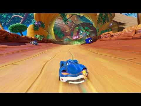 Gameplay pre-E3 2018 de Team Sonic Racing