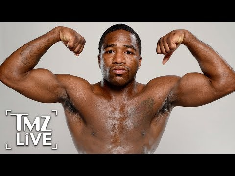 Adrien Broner Goes Sicko Mode In Uber | TMZ Live