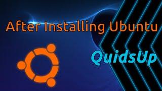Video Top 8 Things To Do After Installing Ubuntu 16.04 MP3, 3GP, MP4, WEBM, AVI, FLV Juni 2018