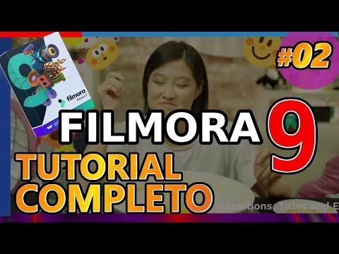 FILMORA 9 : CÓMO EDITAR VIDEOS PARA YOUTUBE, Tutorial 02: básico, principiantes, aprender 2019