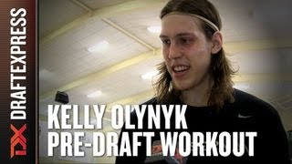 Kelly Olynyk 2013 NBA Pre-Draft Workout & Interview