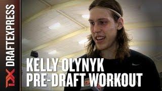 Kelly Olynyk 2013 NBA Pre-Draft Workout & Interview