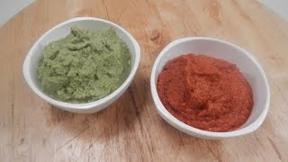 How To Make Thai Red Curry And Green Curry Paste