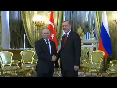 Επίσκεψη Πούτιν στην Τουρκία