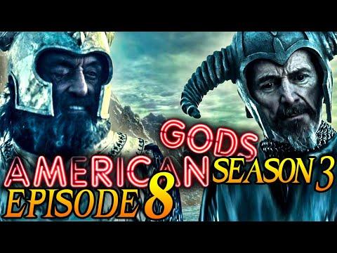 """American Gods Season 3 Episode 8 Breakdown + Easter Eggs Explained! """"The Rapture of Burning"""""""