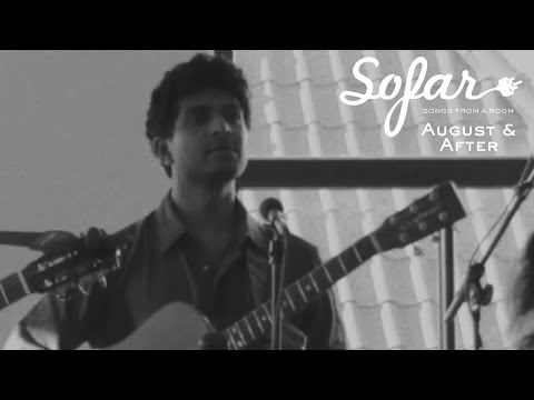 August and After - Elegy | Sofar Amsterdam