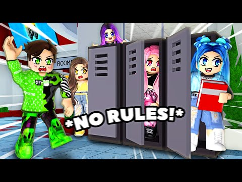 Roblox High School but with NO RULES!