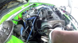Project EP82  - Fixing a leaky camshaft plug/seal (Toyota Starlet GT Turbo)